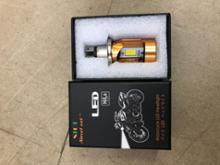 GEAR (ギア)自作 ヘッドライト Street Cat H4/HS1 バイク用ledヘッドライト 12V-80V 20W 対応 Hi/Lo切替 M4 冷却ファン内蔵の単体画像