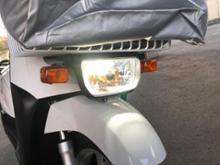 GEAR (ギア)自作 ヘッドライト Street Cat H4/HS1 バイク用ledヘッドライト 12V-80V 20W 対応 Hi/Lo切替 M4 冷却ファン内蔵の全体画像