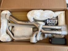 RS3(セダン)HG motorsports EGO-X(Bull-X) Catback exhaustの全体画像