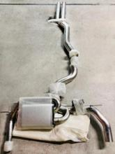 RS3(セダン)HG motorsports EGO-X(Bull-X) Catback exhaustの単体画像