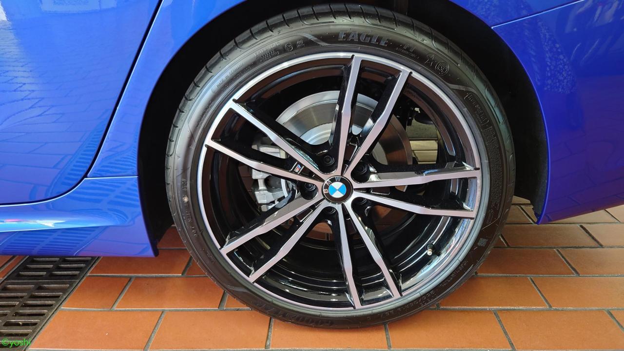 BMW(純正) M ライト・アロイ・ホイール・ダブルスポーク・スタイリング719M バイ・カラー(ジェット・ブラック)