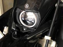 WR250Xヤフオク WR250R/X用LEDヘッドライトユニットの単体画像