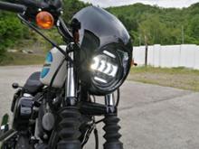 XL1200NS/アイアン1200XPLIGHT 5.75インチLEDへッドライトの単体画像