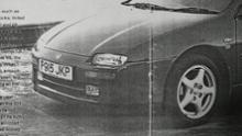 ランティス英国マツダ純正 フロントアンダースポイラーの単体画像