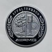 不明 ボンネットエンブレム 3D Affalterbach AMG Hood Badge Emblem