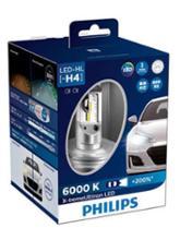 ミニキャブ・ミーブPHILIPS X-treme Ultinon LED H4 LED Headlight 6000Kの単体画像