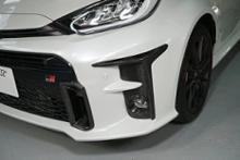 ヤリスAXIS-PARTS GT-DRYカーボン フロントバンパーダクトカバーの全体画像