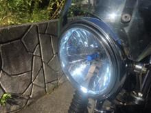 W650RAYBRIG / スタンレー電気 マルチリフレクターヘッドライト ブルータイプ / FH04の単体画像