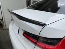 3シリーズ セダンBMW(純正) BMW Performance カーボンリアトランクスポイラーの全体画像