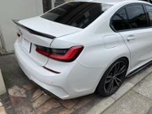 3シリーズ セダンBMW(純正) BMW Performance カーボンリアトランクスポイラーの単体画像