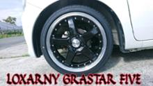 ワゴンRハイブリッドLOXARNY(ロクサーニ) GRASTAR FIVE(グラスターファイブ)の単体画像