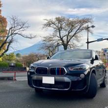 X2メーカー・ブランド不明 BMW Mカラー フロントグリル トリムカバー(F39 X2用)の単体画像