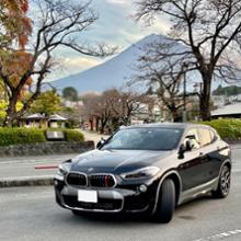 X2メーカー・ブランド不明 BMW Mカラー フロントグリル トリムカバー(F39 X2用)の全体画像