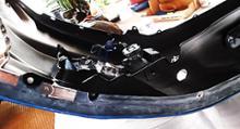 フリードスパイクハイブリッドSAMURAI アンダーリップルカラーモールの全体画像