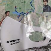 不明(K田さんオリジナル?) SWIFT Sport マスク