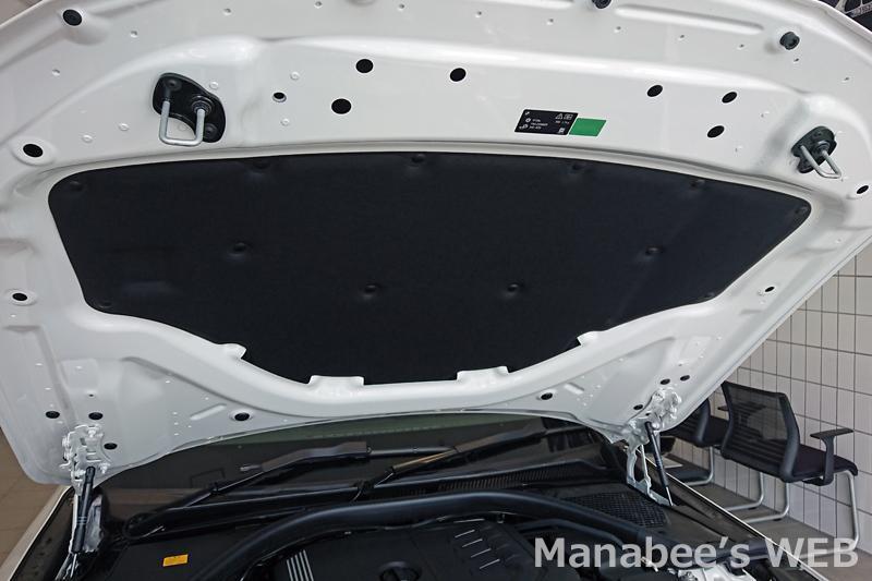 BMW(純正) SOUND INSULATING ENGINE HOOD