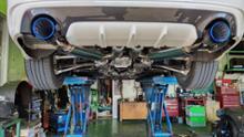 スカイラインHKS Super Turbo Muffler / スーパーターボマフラーの単体画像