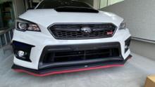 WRX S4AXIS-PARTS ドライカーボン製フロントグリルの全体画像