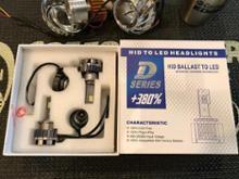 デリカD:5BORDAN HIDプロジェクター用LEDバルブの全体画像