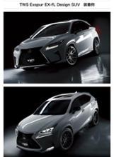 RXハイブリッドTWS / TAN-EI-SYA WHEEL SUPPLY TWS EXspur EX-fL  Design  SUVの全体画像