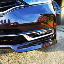 シャトルハイブリッドModulo / Honda Access ロアスカート フロントの単体画像