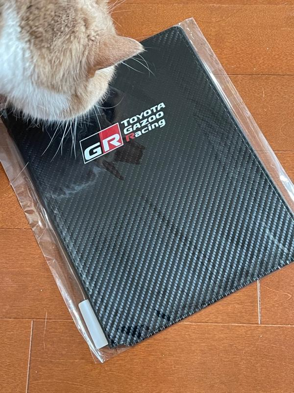 トヨタコネクティッド GRカーボン調車検証ケース