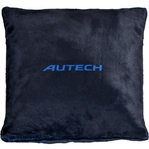AUTECH クッションブランケット (AUTECHロゴ入り、ブラック)