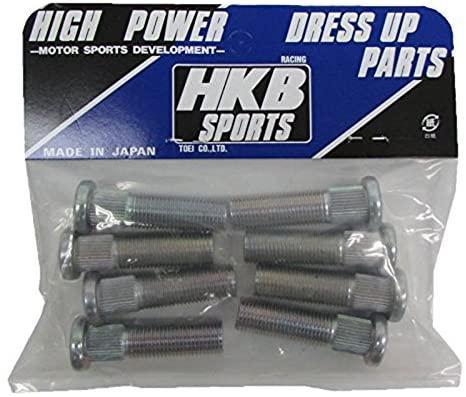 「NHP10」 HKB 10mm ロングハブボルト 8個セット