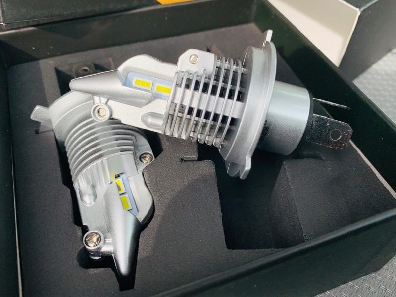 BORDAN 2020最新 ファンレス! LED ヘッドライト