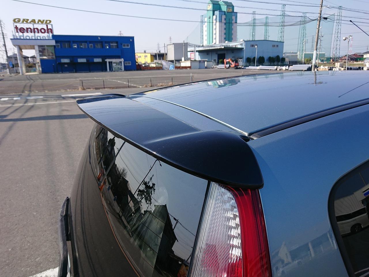 三菱自動車(純正) versionR用リアウイング
