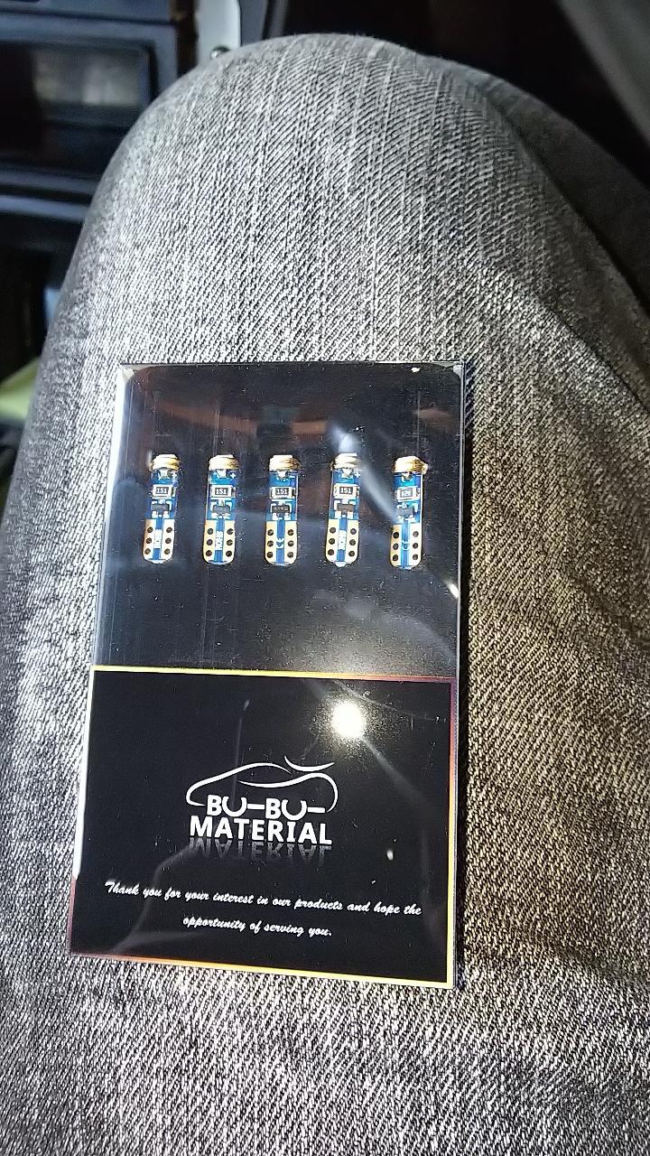 ぶーぶーマテリアル T5  LED  メーター球  レッド