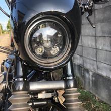 XL1200NS/アイアン1200ボスキー 5.75LEDヘッドライトの単体画像