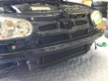 ゴルフ (ハッチバック)VW純正 純正R32フロントバンパーの全体画像