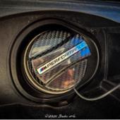 BMW M PERFORMANCE FUEL FILLFR CAP COVER CARBON