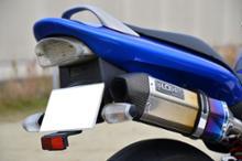 ホーネット250LCI PARTS ヘキサゴンカーボンエンドマフラーの単体画像