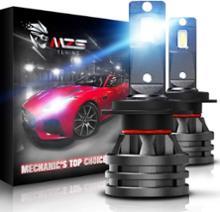 グランドC4スペースツアラーMZS MZS 小型 H7 LED ヘッドライト バルブ 10000LM 6500K 白光 CREE チップ 一体型セット 360度調整ビームの単体画像