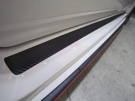プロトタイプ S207風サイドステップ部分サイドシェルモール・カ-ボンステッカー