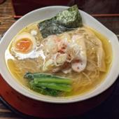 天下ご麺大津店 あっさり塩スープ近江塩鶏麺