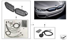 5シリーズ セダンBMW(純正) BMW Performance ブラックキドニーグリルの全体画像