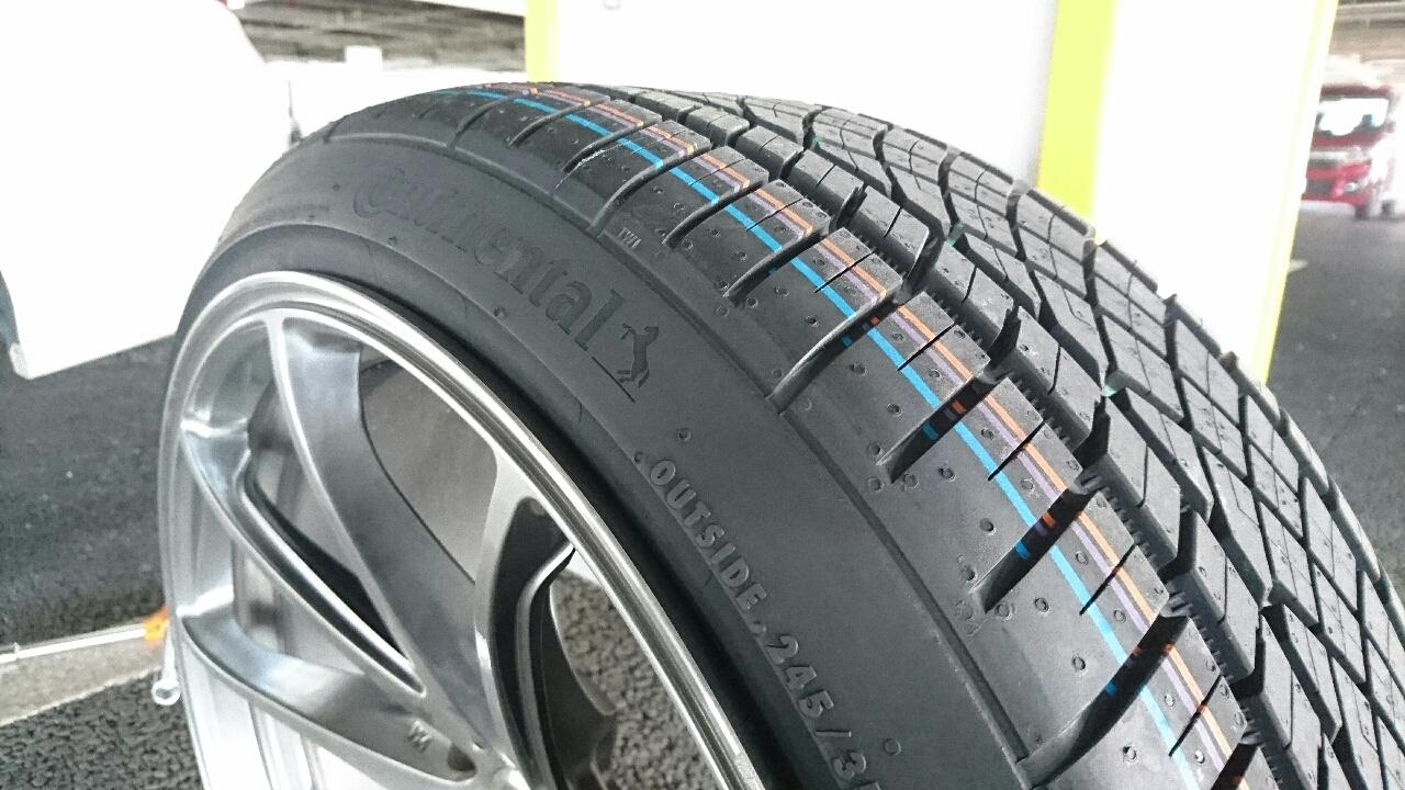 Continental ExtremeContact DWS06 245/35ZR20