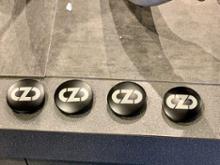 アバルト プントOZ Racing HYPER GT HLT リペイント(半艶ブラック)の全体画像