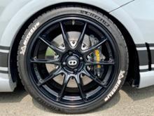 アバルト プントOZ Racing HYPER GT HLT リペイント(半艶ブラック)の単体画像