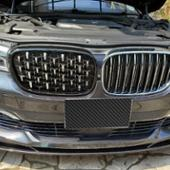 J-Encant Tuning Pair Front Kidney Grill Bmw 7 Series G11 G12 Diamond Grill Meteor Style Front Bumper Grill Car Styli