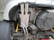 Z3 ロードスターARQRAY Stainless Sports Mufflerの単体画像