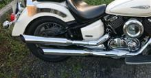 ドラッグスタークラシック1100DAYTONA(バイク) スリップオンマフラー   スラッシュカットの単体画像