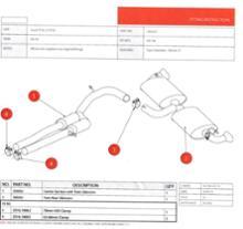 TT RS プラスクーペScorpion Exhausts Cat Back Exhaust Systemの全体画像