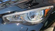 スカイライン ハイブリッド日産(純正) 純正ヘッドライトの単体画像