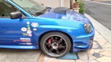 インプレッサWRXRAYS VOLK RACING TE37 SLの単体画像