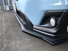 XVKAKUMEI MOTORSPORTS ABS Front Bumper Lipの全体画像