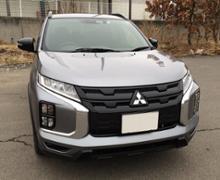 RVR三菱自動車 (輸出用純正) 2020 モデル 豪州仕様 ミツビシ ASX GSR ・ MR 純正 ブラックフロントグリルの単体画像
